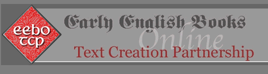 Early English Books Online - Text Creation Partnership image