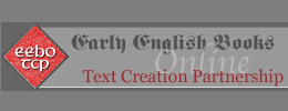 Early English Books Online - Text Creation Partnership summary image